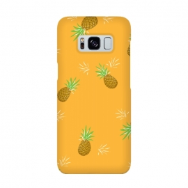 Galaxy S8  Pineapples in Mango by Zoe Charlotte