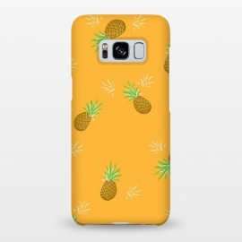Galaxy S8+  Pineapples in Mango by Zoe Charlotte