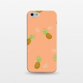 iPhone 5/5E/5s  Pineapples in Guava by Zoe Charlotte