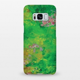 Galaxy S8+  Impressionist Meadow by Zoe Charlotte (meadow,field,field of flowers,floral ,impressionist,impressionistic,monet,artwork,original artwork,hand painted,paint,painting,abstract painting,wildflowers)