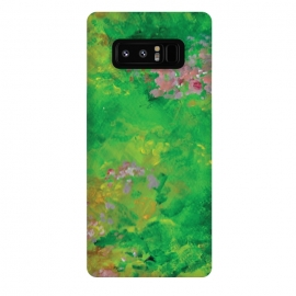 Galaxy Note 8  Impressionist Meadow by Zoe Charlotte