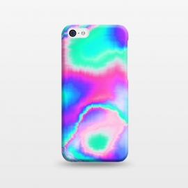 iPhone 5C  Holographic Glitch by Uma Prabhakar Gokhale (graphic design, holograph, holographic, glitch, tech, technology, waves, abstract, colorful)