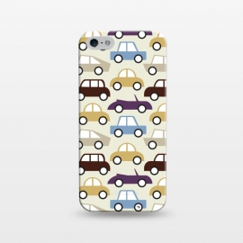 iPhone 5/5E/5s  Cars for him by Martina (for him,for men,masculine,cars,vehicle,vintage,illustration,graphic,modern,cute,men,for dad,for husband,fathers day,pattern)