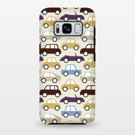 Galaxy S8+  Cars for him by Martina (for him,for men,masculine,cars,vehicle,vintage,illustration,graphic,modern,cute,men,for dad,for husband,fathers day,pattern)