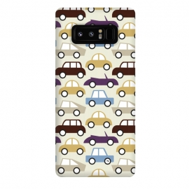 Galaxy Note 8  Cars for him by Martina (for him,for men,masculine,cars,vehicle,vintage,illustration,graphic,modern,cute,men,for dad,for husband,fathers day,pattern)