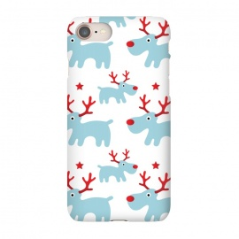 iPhone 8/7  Cute Reindeers by Martina