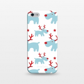 iPhone 5/5E/5s  Cute Reindeers by Martina