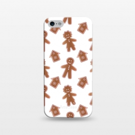iPhone 5/5E/5s  Gingerbread people by Martina