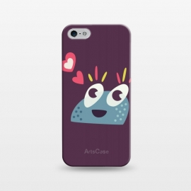 iPhone 5/5E/5s  Kawaii Cute Cartoon Candy Character by Boriana Giormova