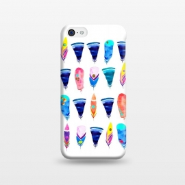iPhone 5C  Candy Feather by Amaya Brydon