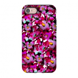 iPhone 8/7  Pink Floral by Amaya Brydon