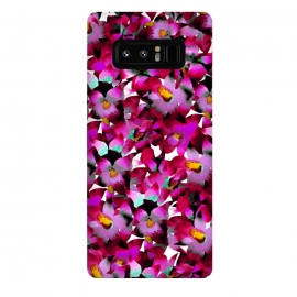 Galaxy Note 8  Pink Floral by Amaya Brydon (floral,pink,botanical,flowers,tropical,pattern,magenta)