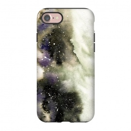 iPhone 8/7  Vanilla Storm by Amaya Brydon (storm,watercolor,winter,abstract,stars,sky,cosmic)