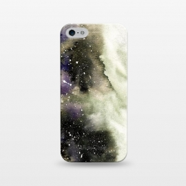 iPhone 5/5E/5s  Vanilla Storm by Amaya Brydon (storm,watercolor,winter,abstract,stars,sky,cosmic)