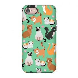 iPhone 8/7  Cats cats cats by Maria Jose Da Luz