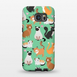 Galaxy S7 EDGE  Cats cats cats by Maria Jose Da Luz