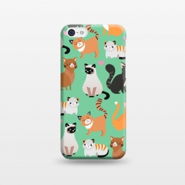 iPhone 5C  Cats cats cats by Maria Jose Da Luz (cats,breeds,cute,hearts,love,pets)