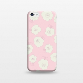 iPhone 5C  Fluffy Flowers by Paula Ohreen