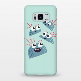 Galaxy S8+  Kawaii Cute Cartoon Candy Friends by Boriana Giormova