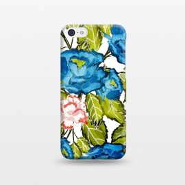 iPhone 5C  Indigo Bloom by Uma Prabhakar Gokhale