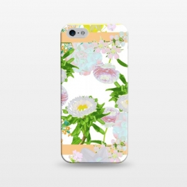 iPhone 5/5E/5s  Floral Frame Collage by Zala Farah