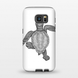 Galaxy S7  Baby Sea Turtle by ECMazur