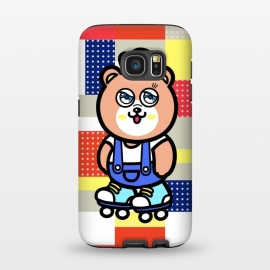 Galaxy S7  GO GO Bear by Michael Cheung