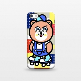 iPhone 5C  GO GO Bear by Michael Cheung