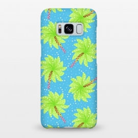 Galaxy S8+  Abstract Flower-like Palm Trees Pattern by Boriana Giormova