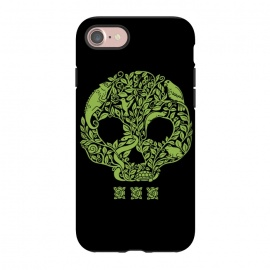 iPhone 8/7  Green Skull by Coffee Man