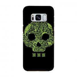 Green Skull by Coffee Man