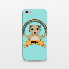 iPhone 5/5E/5s  Cat Nope by Coffee Man