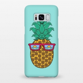 Galaxy S8+  Floral Pineapple by Coffee Man