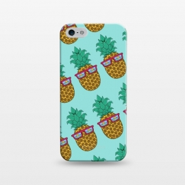 iPhone 5/5E/5s  Floral Pineapple pattern by Coffee Man