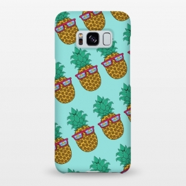 Galaxy S8+  Floral Pineapple pattern by Coffee Man