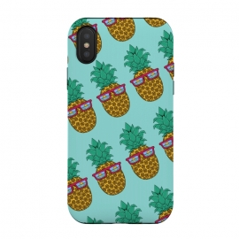 iPhone Xs / X  Floral Pineapple pattern by