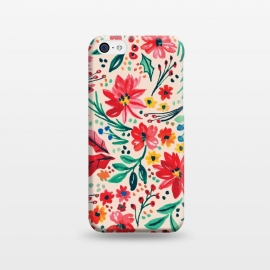 iPhone 5C  Holidayflowers by Susanna Nousiainen