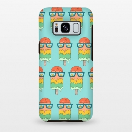 Galaxy S8+  Hot Ice Cream pattern green by Coffee Man