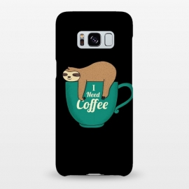 Galaxy S8+  I NEED COFFEE by Coffee Man