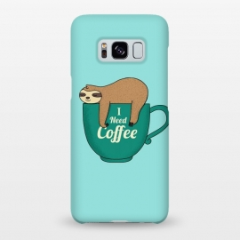 Galaxy S8+  I need Coffee green by Coffee Man