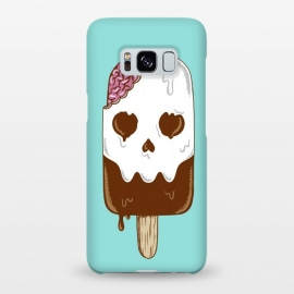 Galaxy S8+  Skull Ice Cream by Coffee Man (skull, summer,vacation,spring break,brain,melted,beach,ice cream,fun,funny)
