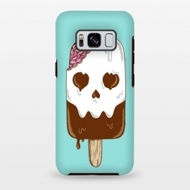 Galaxy S8 plus  Skull Ice Cream by  (skull, summer,vacation,spring break,brain,melted,beach,ice cream,fun,funny)