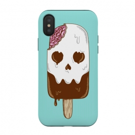 Skull Ice Cream by Coffee Man (skull, summer,vacation,spring break,brain,melted,beach,ice cream,fun,funny)