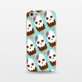iPhone 5/5E/5s  Skull Ice Cream Pattern by Coffee Man