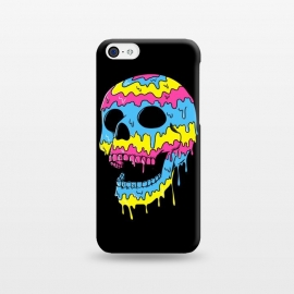 iPhone 5C  Melted Skull by Coffee Man