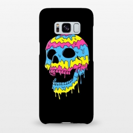 Galaxy S8+  Melted Skull by Coffee Man (skull,dead,evil,colorful,colors,bond,pop,pop art,brilliant,melted,emo,punk)