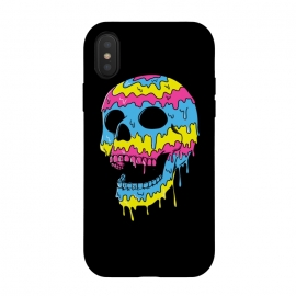 iPhone Xs / X  Melted Skull by