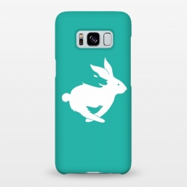 Galaxy S8+  Run Rabbit Green by Coffee Man