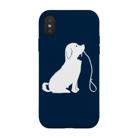 iPhone Xs / X  Animals by Coffee Man (dog,cat,bird,mouse,animal,animals,pet,pets,cute,adorable,negative space,creative,puppy)