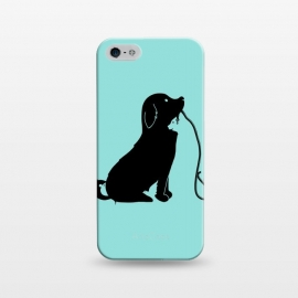 iPhone 5/5E/5s  Animals green by Coffee Man (dog,cat,bird,mouse,fun,funny,animal,animals,negative space,cute,adorable,animal lover,puppy)